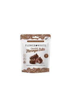 Flower & White - Meringue Bites - Chocolate - 10 x 75g