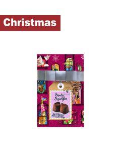 Monty Bojangles - Christmas Town Gift Wrap - 5 x 190g