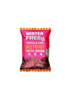 Mister Free'd - Tortilla Chips with Beetroot - 12 x 135g