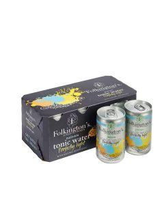 Folkington's - Indian Tonic Water Light (Fridgepack) - 3 x 8 x 150ml