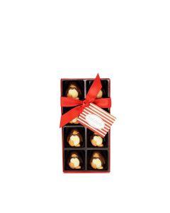 Natalie Chocolates - 8 Milk And Dark Chocolate Penguins - 9 x 100g