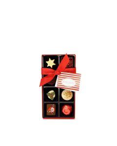 Natalie Chocolates - 8 Christmas Continental Chocolates Selection - 9 x 100g