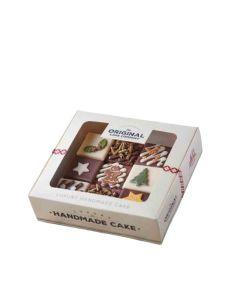 The Original Cake Company  - 9 piece Chocolate Christmas Gift Box - 4 x 740g