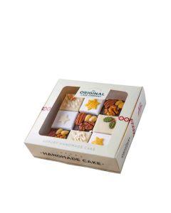 The Original Cake Company  - 9 Piece Fruit Christmas Gift Box - 4 x 740g