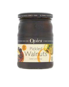 Opies - Pickled Walnuts in Malt Vinegar - 6 x 390g
