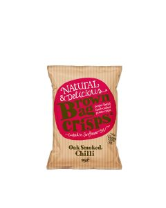 Brown Bag Crisps - Oak Smoked Chilli Crisps - 20 x 40g