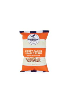 Portlebay Popcorn - Bacon & Maple Syrup Popcorn - 18 x 25g