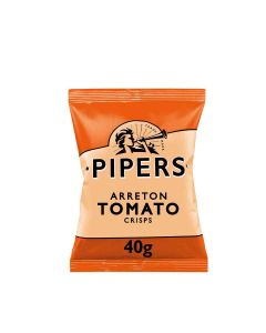 Pipers - Arreton Spicy Tomato Crisps - 24 x 40g