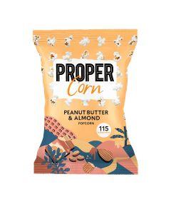 Proper - Peanut Butter & Almond Popcorn - 8 x 90g