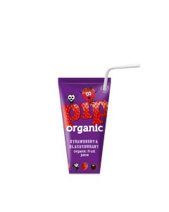 PIP Organic - Strawberry & Blackcurrant Juice - 24 x 180ml