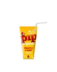 PIP Organic - Pineapple & Mango Smoothie - 24 x 180ml
