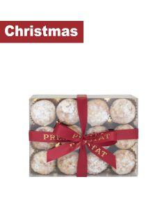 Prestat  - 12 Mini Almond topped mince pies - 6 x 210g
