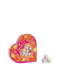 Prestat - Pink Marc de Champagne Heart Box - 8 x 100g