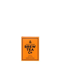 Brew Tea Co - Lemon & Ginger Tea - 6 x 15 bags