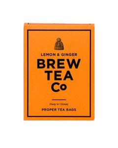 Brew Tea Co - Lemon & Ginger Tea - 6 x 15 bags