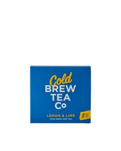 Brew Tea Co - Cold Brew Iced Tea - Lemon & Lime - 6 x 8 (20g Tea Bags)
