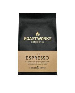 Roastworks Coffee Co. - The Espresso Ground Coffee - 6 x 200g