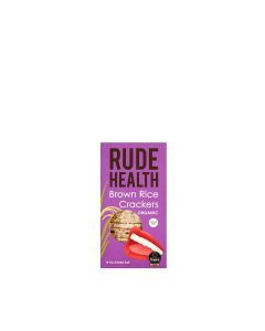 Rude Health - Brown Rice Crackers - 5 x 130g