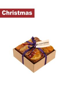 "The Simply Delicious Cake Co - Boxed 4"" Square Bejewelled Cake - 6 x 650g"