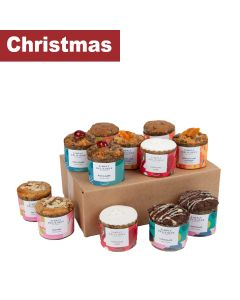 Simply Delicious Cake Co, The - Tray of Mini Round Fruit Cakes - 12 x 150g
