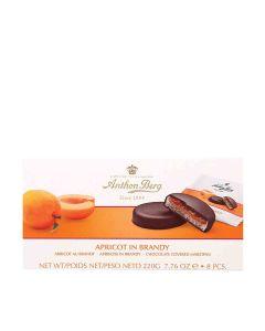 Anthon Berg - Apricot in Brandy Marzipan & Dark Chocolate - 12 x 220g