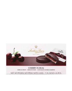 Anthon Berg - Cherry in Rum Marzipan & Dark Chocolate - 12 x 220g