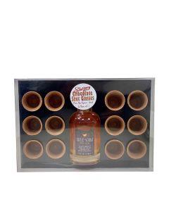 Slattery - Box of 12 Chocolate Shot Glasses & Large Bottle of Toffee Vodka 20.3% Abv - 6 x 760g