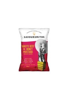 Savoursmiths - Wagyu Beef with Honey Mustard Crisps - 16 x 150g