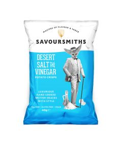 Savoursmiths - Desert Salt and Vinegar - 12 x 150g