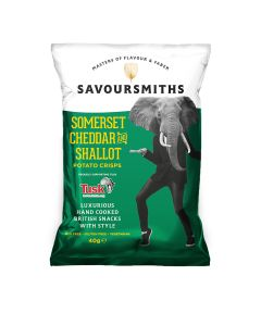 Savoursmiths - Somerset Cheddar and Shallot - 12 x 150g