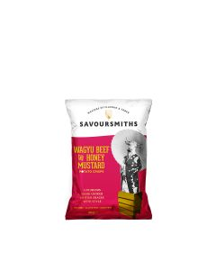 Savoursmiths - Wagyu Beef with Honey Mustard Crisps - 24 x 40g