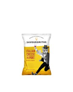 Savoursmiths - Italian Cheese & Port Crisps - 24 x 40g