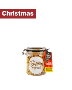 Snaffling Pig - Hot to Trot Habanero Pork Crackling Gift Jar - 12 x 90g