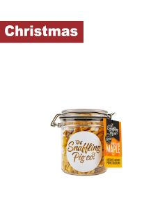 Snaffling Pig - Marvellous Maple Pork Crackling Gift Jar - 12 x 90g