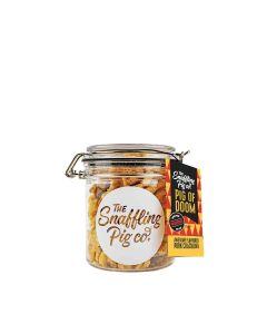 Snaffling Pig - Pig of Doom (Super Hot) Pork Crackling Gift Jar - 12 x 90g