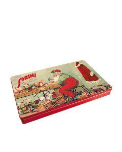 Sorini - Santa's Lab Tin with Chocolate Cream & Puffed Rice - 8 x 400g
