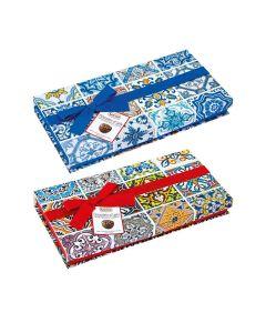 Sorini - Maiolica Boxes with Chocolate Cream & Puffed Rice - 8 x 270g