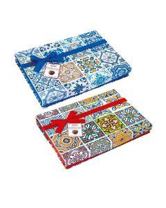 Sorini - Gran Maiolica Boxes with Chocolate Cream & Puffed Rice - 6 x 660g