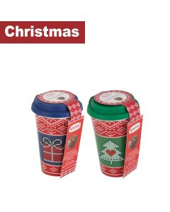 Sorini - Christmas Cups filled with Chocolate Cream & Puffed Rice - 9 x 80g