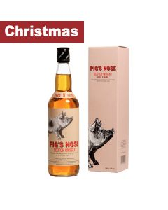 Spencerfield Spirit Whiskies - Pig's Nose; Blended Scotch Whisky 40% Abv - 6 x 700ml