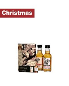 Spencerfield Spirit Whiskies - Twin Pack of Miniature Whiskies; Sheep Dip and Pig's Nose - 12 x 2 x 50ml