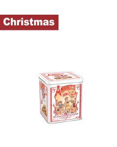 Lazzaroni - Amarettini Classic Crunchy Cube Tin 12x75g - 12 x 75g