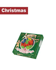 Lazzaroni - Green Window Box of Soft Amaretti - 12 x 145g