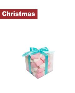 Sweet Lounge - Cube Box with Pink & White Marshmallows - 6 x 200g