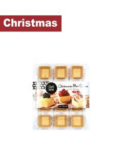 Confiletas - All Butter Mini Square Straight Edges (12 pieces) - 10 x 69g