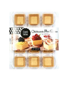 Confiletas - All Butter Mini Square Tartlets - 10 x 69g