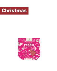 Chocolate Story - Chocolate Pizza white chocolate with raspberry - 12 x 140g