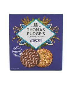 Thomas Fudges - Milk Chocolate Flapjacks - 8 x 288g