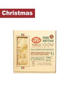 Tipico - Pane Guttiau (Thin Crispy Bread with Salt & Olive oil) - 20 x 250 gr