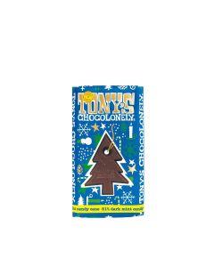 Tony's Chocolonely - Dark Chocolate 51% Mint Candy Cane - 15 x 180g